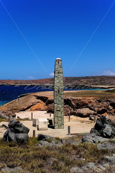 Natural Bridge Obelisk – Aruba - DileVale