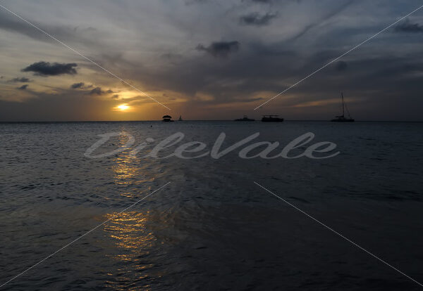 Sunset – Boca Catalina Beach – Aruba - DileVale